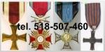 Kupie stare ordery, medale, odznaki, odznaczenia