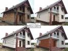 Projekt elewacji, wizualizacje 2D/3D, projekt elewacja domu
