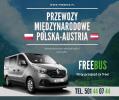 Przewozy Busy do Wiednia Bus Austria transport Skarżysko